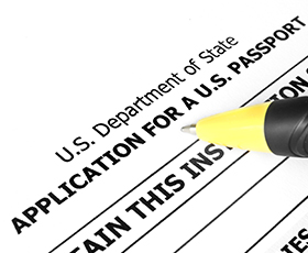Find the right US passport application form