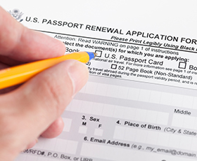 US Passport Renewal Application Form