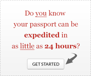 Expedite your passport in as little as 24 hours