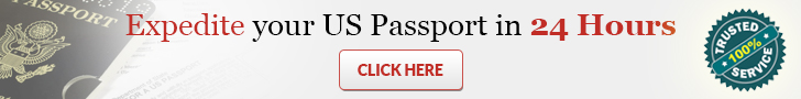 Expedite US Passport in as little as 24 Hours