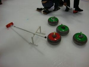 The Canadian sport of curling