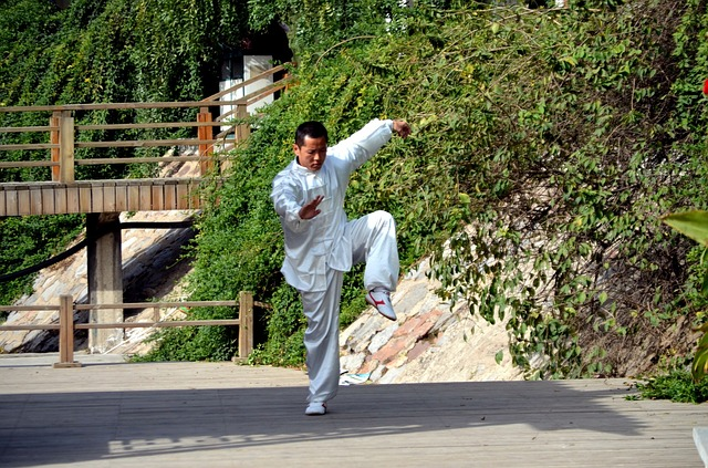 China, home of tai chi and kung fu