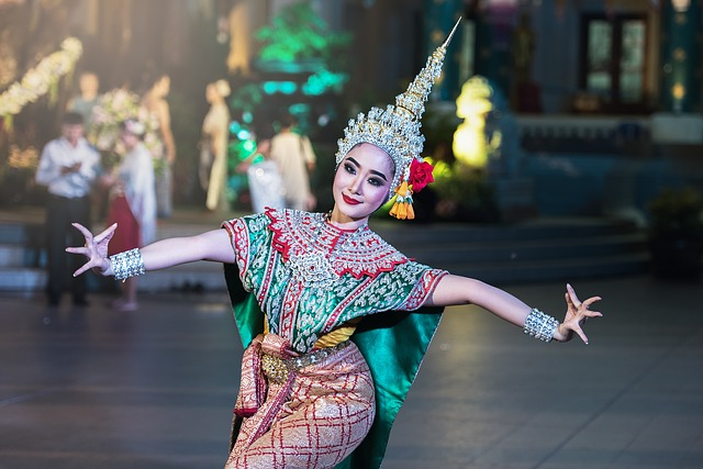 Thai culture includes beautiful dances