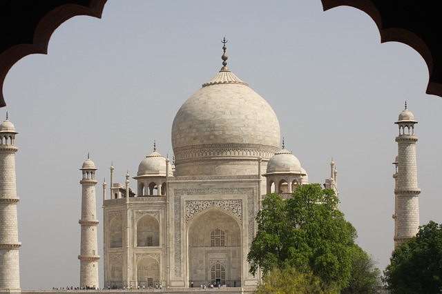 See the Taj Mahal in India