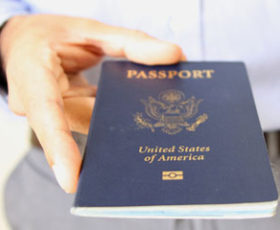 A passport will prove your citizenship in an immigration raid.