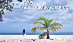 Eagle Beach in Aruba