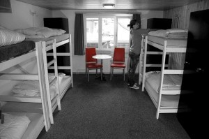 Hostels are another great option for a low cost stay abroad