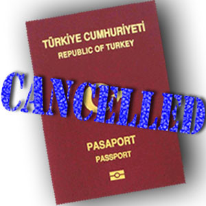 Enes Kanter's Turkish passport was cancelled while he traveled.