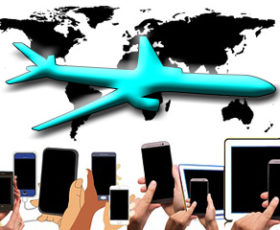 Get the scoop on flying with electronics.