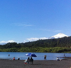 Villarrica, Chile - lake, forest, mountains, and the 2020 total solar eclipse!