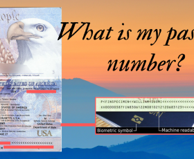 What is my passport number?