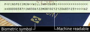 biometric passport info number